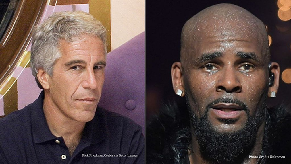 sexual predators r Kelly and Jeffrey Epstein