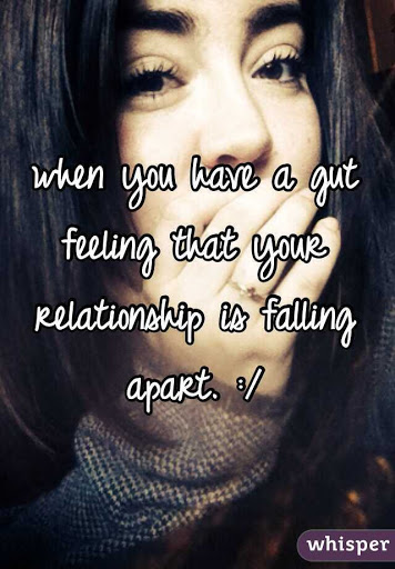 Gut feeling about relationship