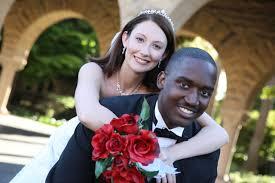 Interracial Marriage black man white woman